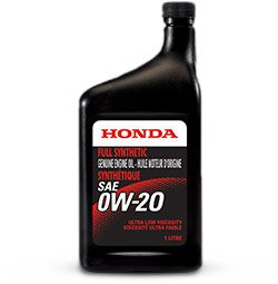 0W-20 Synthetic Oil Change