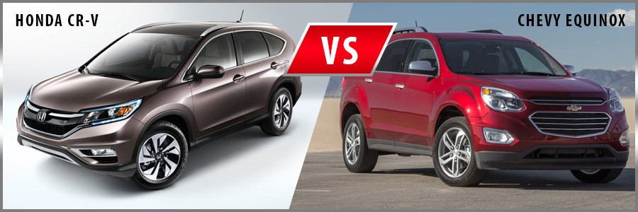 2016 Honda CRV vs. 2016 Chevrolet Equinox