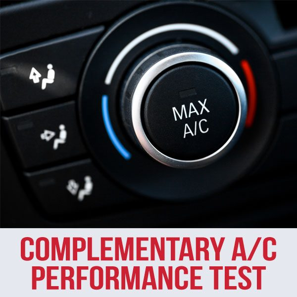 Complementary A/C Performance Test